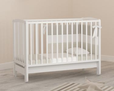 Детская кроватка с маятником Angela Bella Бьянка (белый)