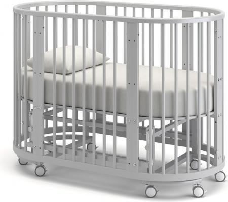 Детская кровать-трансформер Бэтти (белая ночь)