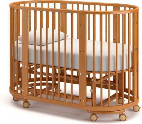 Детская кровать-трансформер Бэтти (вишня)