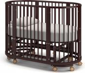 Детская кровать-трансформер Бэтти (махагон)