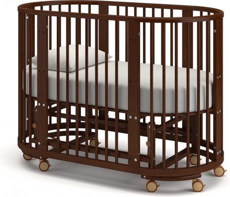 Детская кровать-трансформер Бэтти (орех)