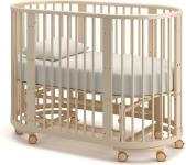 Детская кровать-трансформер Бэтти (слоновая кость)