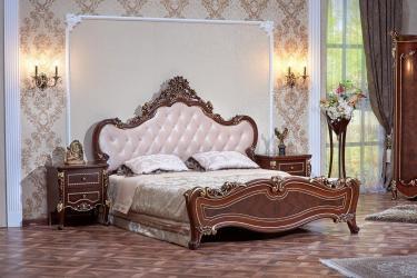 Спальня Констанция (темный орех) с 5-ти дверным шкафом