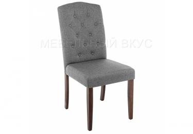 Стул Menson dark walnut / fabric grey