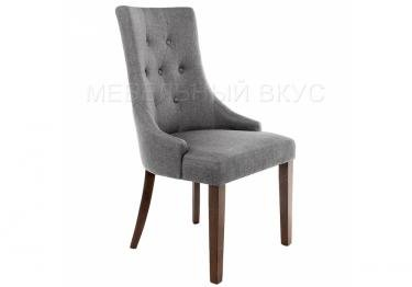 Стул Elegance dark walnut / fabric grey