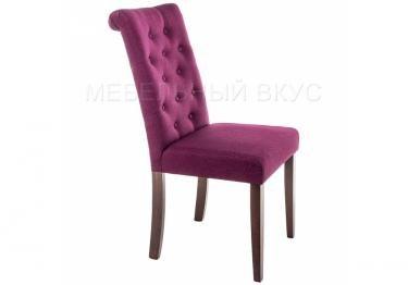 Стул Amelia dark walnut / fabric purple