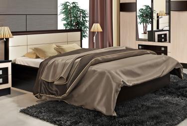 Кровать 1,4 вариант 1 с настилом