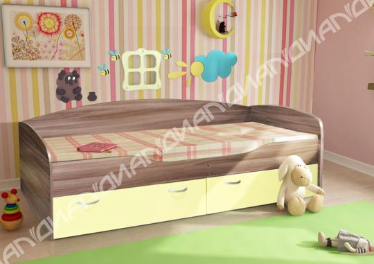 Кровать Бриз Вариант 2 ЛДСП