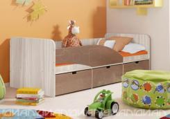 Кровать Бриз вариант 3 Квадрат