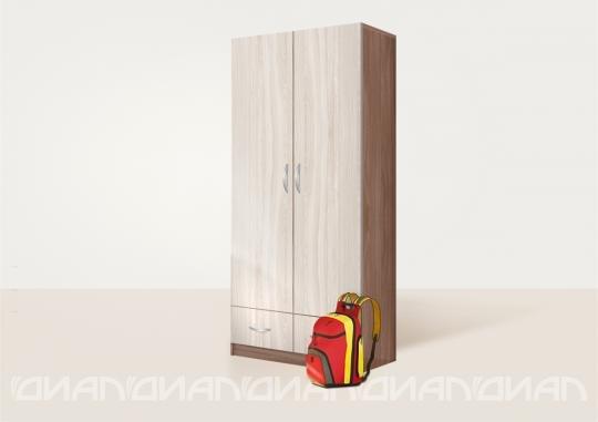 Шкаф двустворчатый Бриз вариант 1