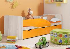 Кровать Бриз вариант 3 Волна Манго