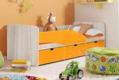 Кровать Бриз вариант 3 Квадрат Манго