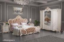 Спальня Беатрис с 4-х дверным шкафом
