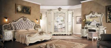 Спальня Джаконда с 5-ти дверным шкафом (Крем)