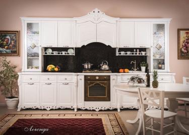 Кухонный гарнитур Легенда (Белый)