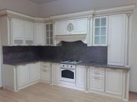 Кухня Валенсия угол 3,6х1,65 м (Крем)
