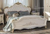 Кровать Энрике крем глянец