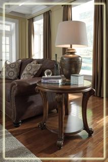 Журнальный стол Т799-6 коричневый состаренный