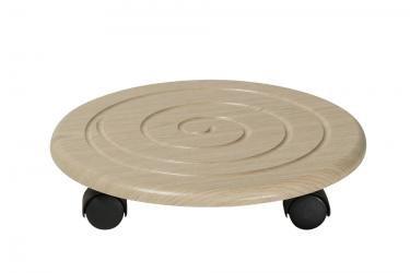 Комплект подставок напольных на колесах Спираль (Дуб)