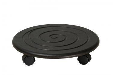 Комплект подставок напольных на колесах Спираль (Венге)