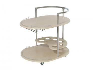 Стол сервировочный Официант (Дуб беленый)