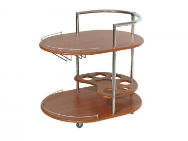 Стол сервировочный Официант (Вишня)