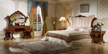 Спальня Роял (орех, золото)