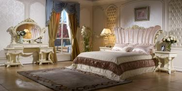 Спальня Роял (слоновая кость, золото)