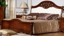 Кровать 1.6х2.0 (экокожа) Бриджида