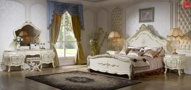 Спальня Дольче Вита (слоновая кость + золото)
