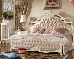 Кровать 1.6х2.0 (Арт 917) Ткань Лоренцо