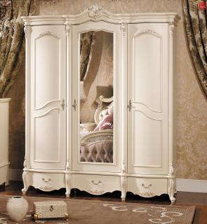 Шкаф 3-х дв. с зеркалом Лоренцо