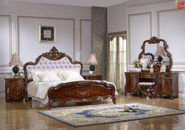 Спальня Магдалена (орех+золото)