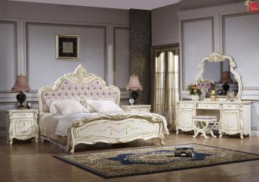 Спальня Магдалена (слоновая кость+золото)