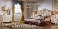 Спальня Шанель (Слоновая кость Маренго+золото)