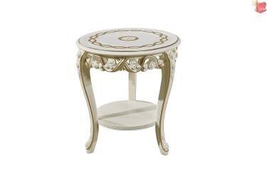 Стол кофейный Венеция (слоновая кость)