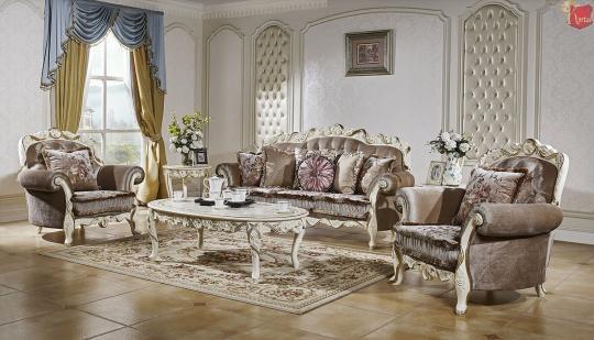 Мягкая мебель Венеция Слоновая кость