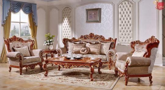 Мягкая мебель Магдалена (королевский орех+золото)