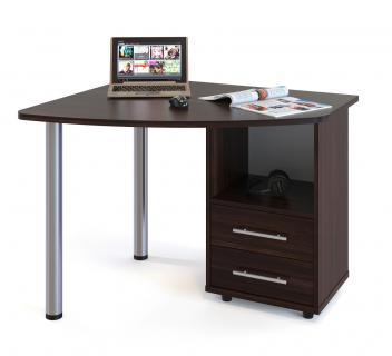 Компьютерный стол КСТ-102П (Венге)