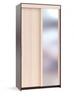 Шкаф-купе Контур ШР-126.2 с зеркалом