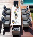 """Набор садовой мебели стол """"ТОСКАНА"""" + 6 кресел """"ВЕРОНА"""""""