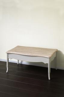 Журнальный столик 1100 (серый пикрит / дуб прованс)