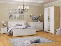 """Спальня """"Оливия"""" (Белое дерево/Дуб сонома)"""