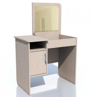 Стол туалетный 5 НМ 011.11 (Дуб молочный (белфорт))