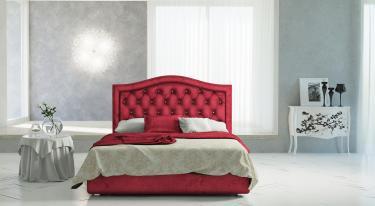 Кровать Angelo Cherry (Анжело Чери) с подъемным механизмом (стразы)