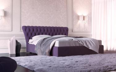 Кровать Federika (Федерика) с подъемным механизмом (со стразами)