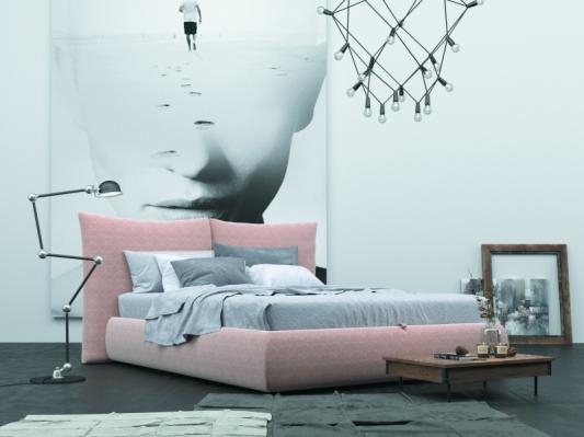 Кровать Vintage (Винтаж) с подъемным механизмом (пуговицы)