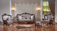 Комплект мягкой мебели Парадиз (орех / медея мокко)