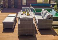 ПАЛЕРМО - садовый комплект мебели из искусственного ротанга