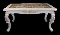 Стол журнальный Версаль со стеклом